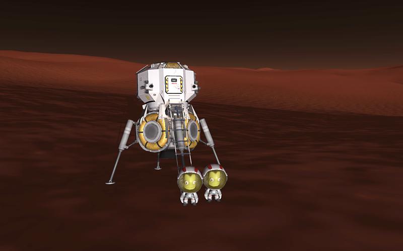 kerbal space program mun mission - photo #23