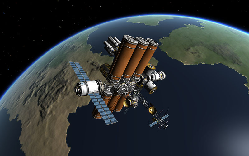 kerbal space station build - photo #2